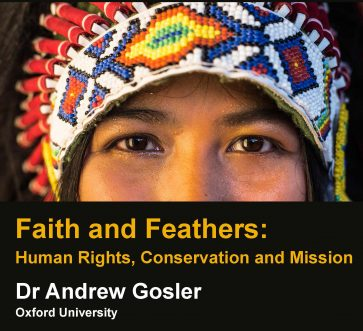 Faith and Feathers: Human Rights, Conservation and Mission