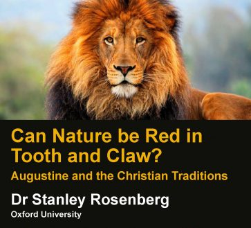 Can Nature Be Red In Tooth And Claw? Augustine And The Christian Traditions