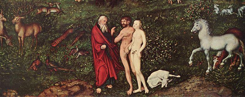 Lucas_Cranach_(I)_-_Adam_and_Eve-Paradise_-_Kunsthistorisches_Museum-crop