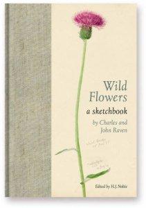 Wild flowers scketchbook Charles raven