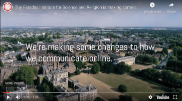 The Faraday Institute for Science and Religion announces its new website